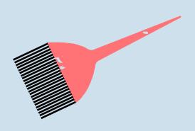 The Hair Base Salon brush